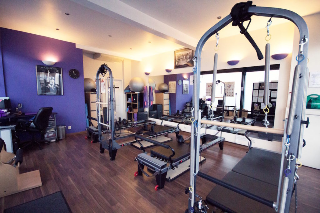 Pilates reformer studio in Greenwich
