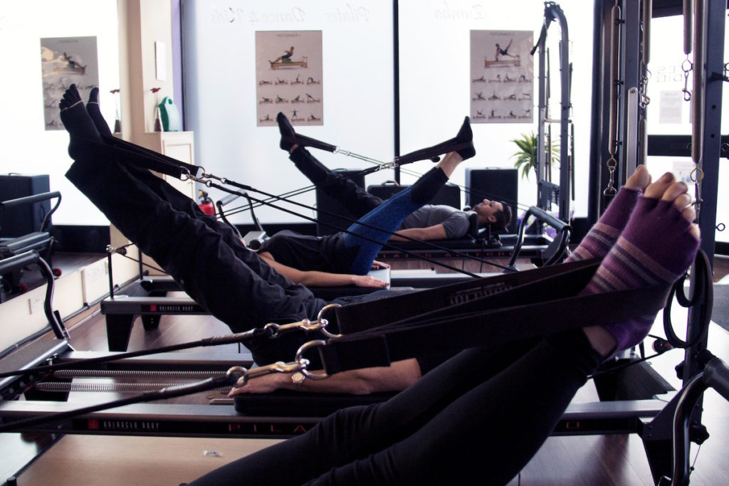 Reformer Pilates class in Greenwich