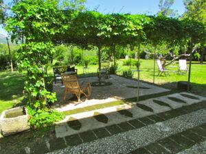 Pilates Retreat Italy Shaded Area
